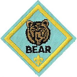 Bear Scout Patch Emblem
